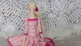 Кукла в стиле Тильда Дэниза