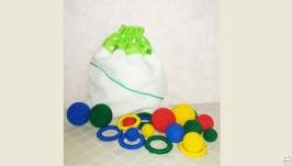 Развивающая игра Кольцо-шар