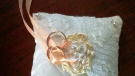 Подушечка Для колец (свадебная)