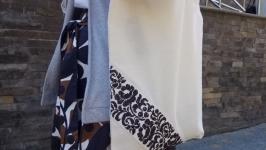 Еко-сумка Квіти монохром від Richelieu Studio LO