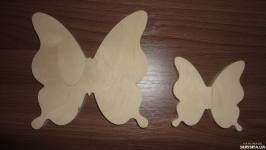 Заготовка для творчества Бабочка 8 см