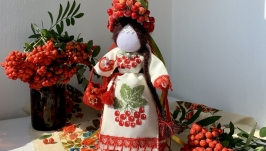 Лялька мотанка «Горобина».