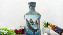 Бутылка ′Счастье рыбака′