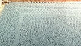 Оренбургский платок с бисером