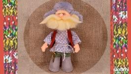 Дед домовой. Кукла в народном костюме.