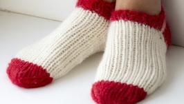 Носки короткие теплые
