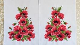 Трояндове сердце рожеве, весільний рушник