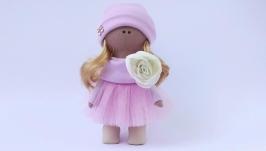 Кукла текстильная в шпочке