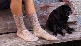 Шкарпетки в`язані спицями