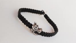 Мужской кожаный браслет ′Dragon′