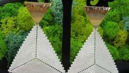 Серьги «Треугольник»
