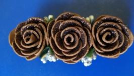 Коричневая роза