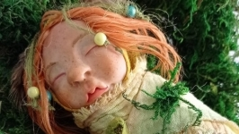 Будуарная кукла-Маленький эльф