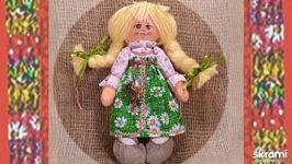 Домовушка. Кукла в народном костюме.