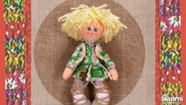 Домовенок. Кукла в народном костюме.