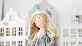 Michelle интерьерная текстильная кукла