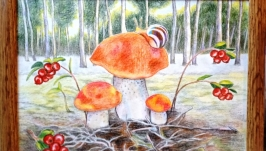 Западная Сибирь. Белые грибы.