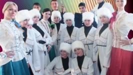 Сценические костюмы кубанских казаков