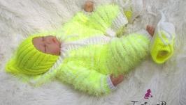 Плюшевый комплект для новорожденных