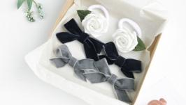 Набор заколок и резинок для девочки  Подарочный набор аксессуаров девочке