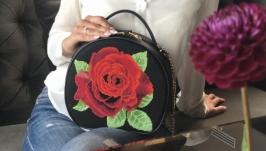 Сумочка ′Троянда′ Handbag ′Rose′ Сумочка′Роза′