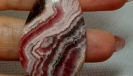 Родохрозит кабошон