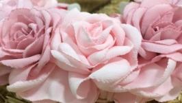 Ободок «Рожеві троянди»