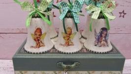 Новогодний набор с колокольчиками на елку