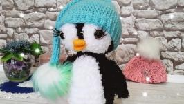 ПингвиНяша в мятной шапочке.