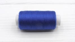 Нитки джинсовые синий для вязания жгутов