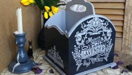 Органайзер, підставка для косметики, кісточок, гребінців, духів  ′Lavande′
