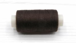 Нитки джинсовые темно-коричневый для вязания жгутов