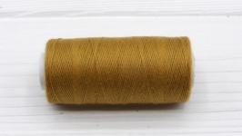 Нитки джинсовые коричневый для вязания жгутов