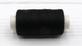 Нитки джинсовые черный для вязания жгутов