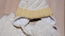 Детский комплект : шапка, шарф, носки, варежки.