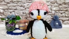ПингвиНяша в розовой шапочке.