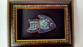 Брошь ′Рыба′