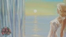 Картина маслом (Девушка у окна)