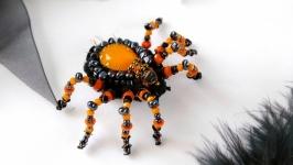 Брошка павук на Хелловін  Брошь паук на Хэллоуин