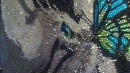 Алмазная мозайка (Кот)