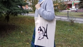 Еко-сумка Парижанка від Richelieu Studio LO