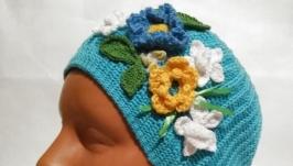 Женская шапочка ′Весна′