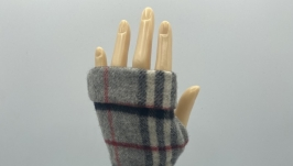Designer Burberry Fingerless Gloves