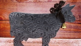 Интерьерная фигурка коровки