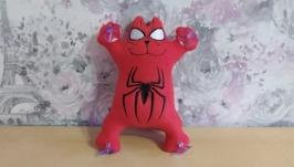 Кот Саймон супергерой человек паук