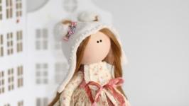 Интерьерная текстильная кукла Ариша