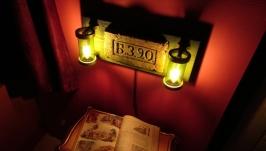 Бра ручной работы, настенный светильник, настенный декор