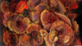 Марципановые цветы   Marzipan flowers