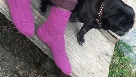 Жіночі шкарпетки в`язані