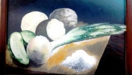 Натюрморт с луковицей